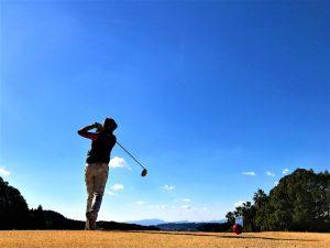 ゴルフ場に近いコテージ