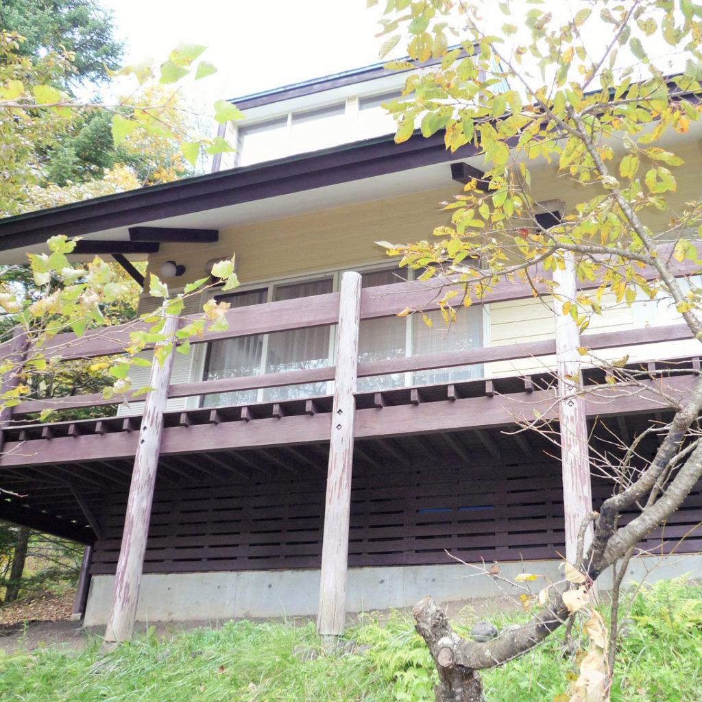 軽井沢020 大型コテージ 外観