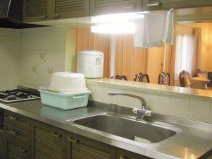 ヴィラージュ那須高原 エクセレント キッチン例