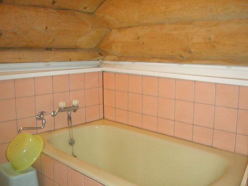 ヴィラージュ那須高原 ログハウスA 浴室例
