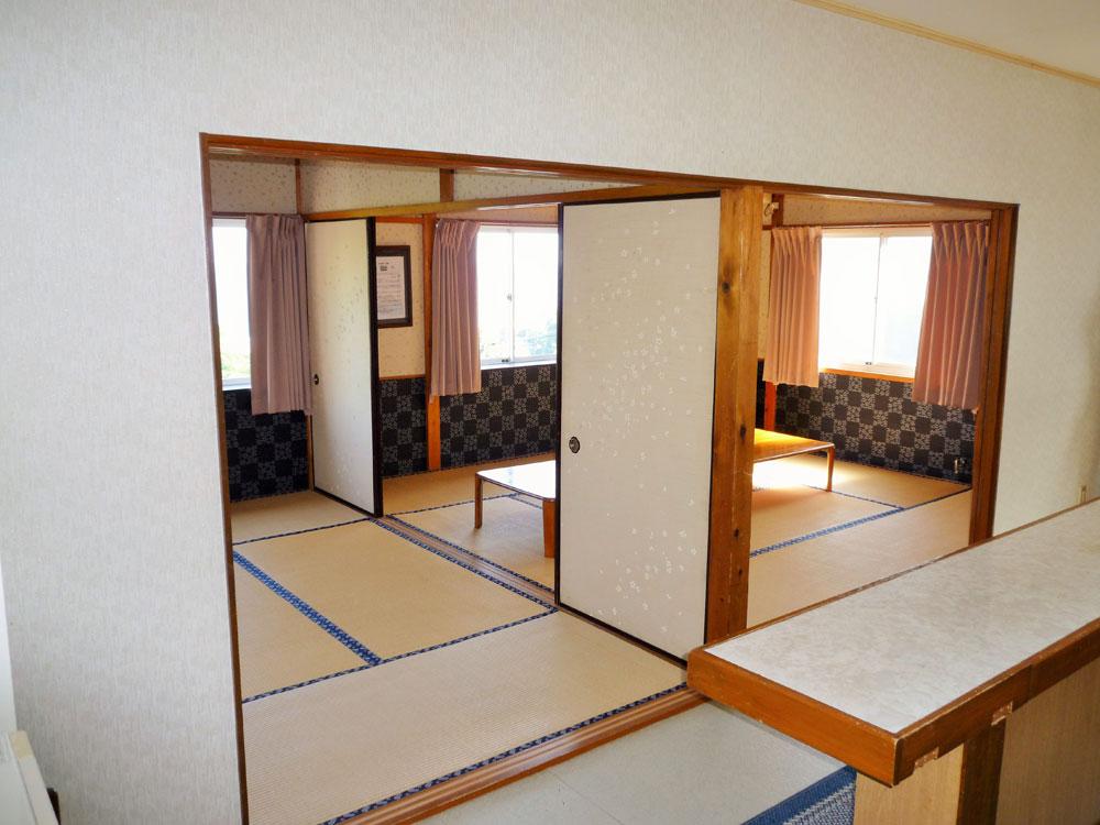入田浜山荘 10名用コテージ 和室