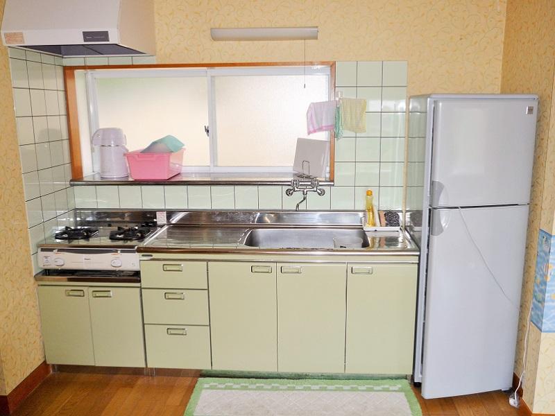 入田浜山荘 8名用 キッチン