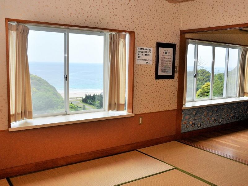 入田浜山荘 8名用 景色