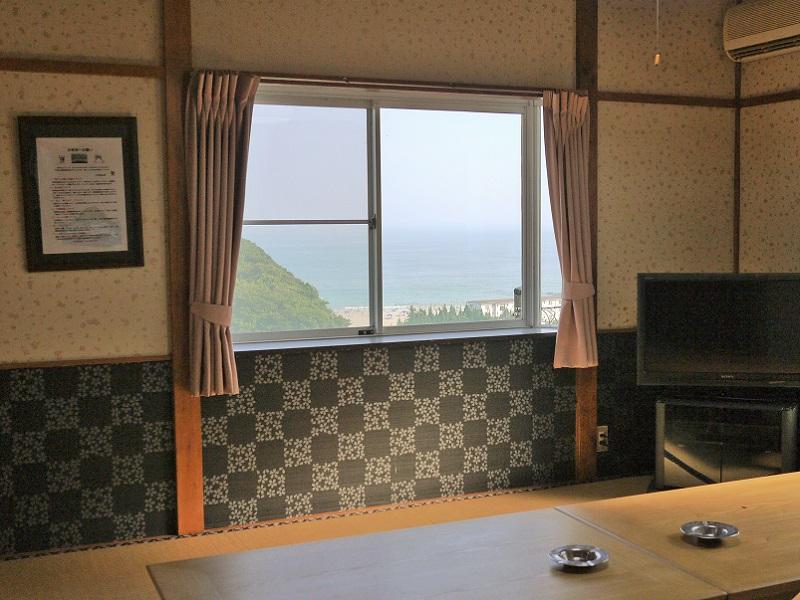入田浜山荘 10名用 眺め