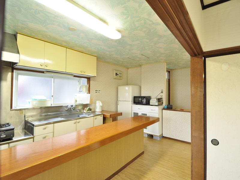 入田浜山荘 12名用 キッチン