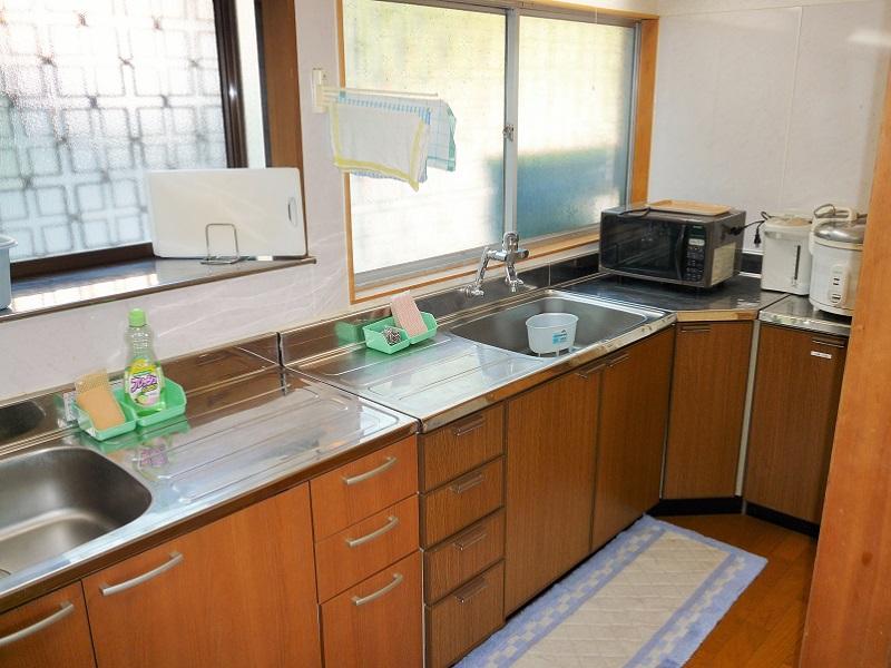 入田浜山荘 15~19名用 キッチン