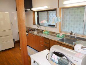 入田浜山荘 15名用 キッチンスペース