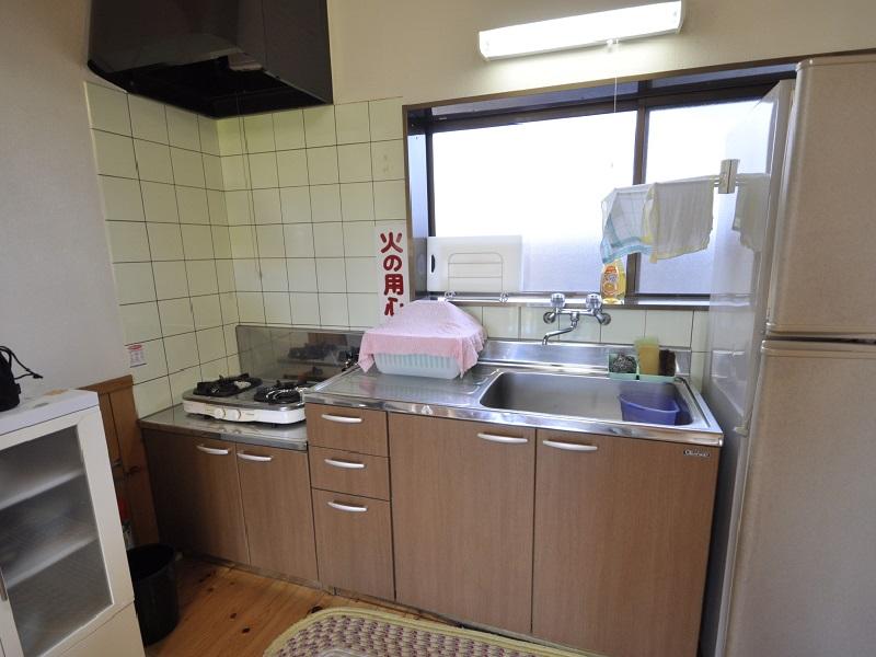 入田浜山荘 A6名用 キッチン