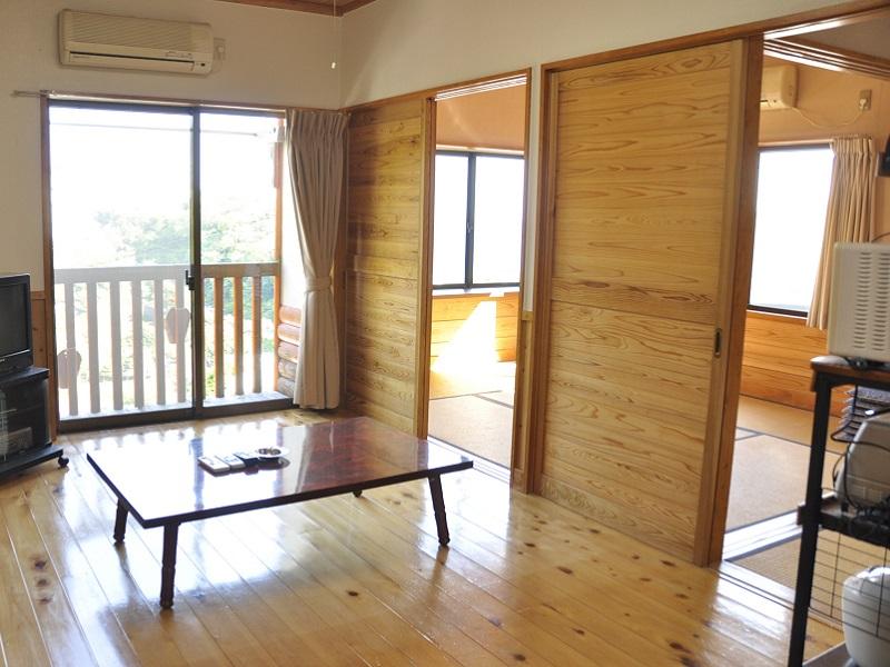 入田浜山荘 A6名用 海の見えるリビング