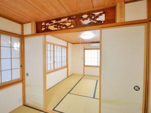 入田浜山荘 25~35名で泊まれる大型棟 離れの和室