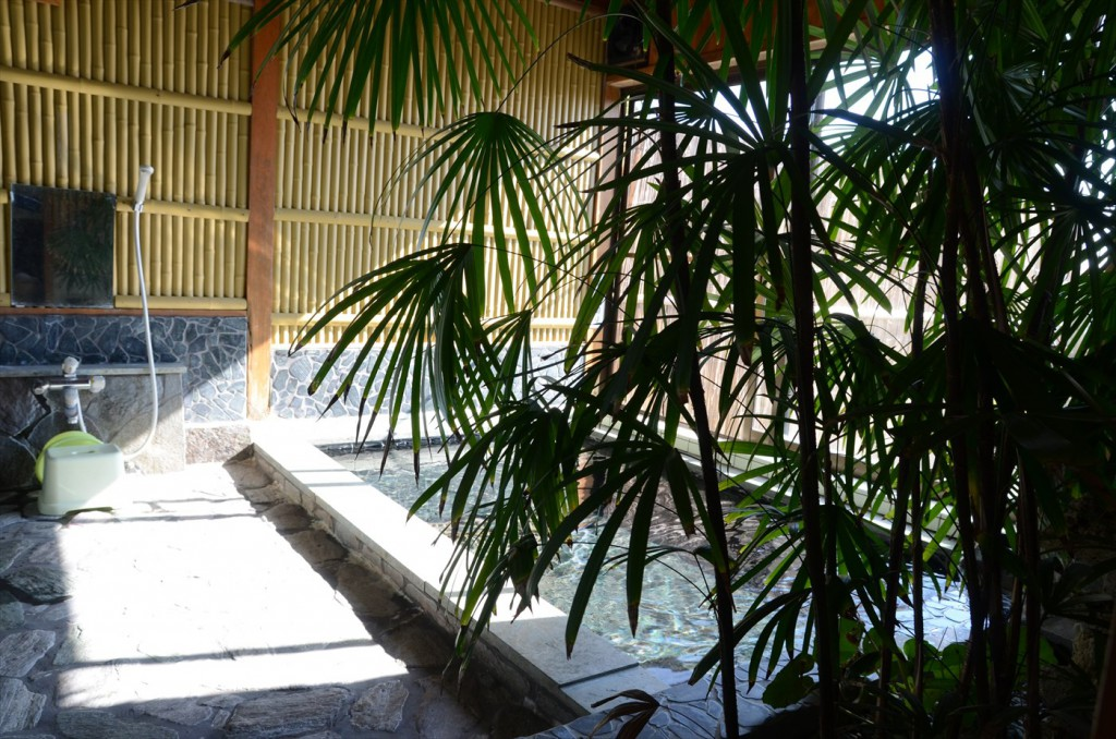 和風の貸切展望風呂