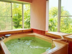 ケニーズハウス一碧湖 風呂