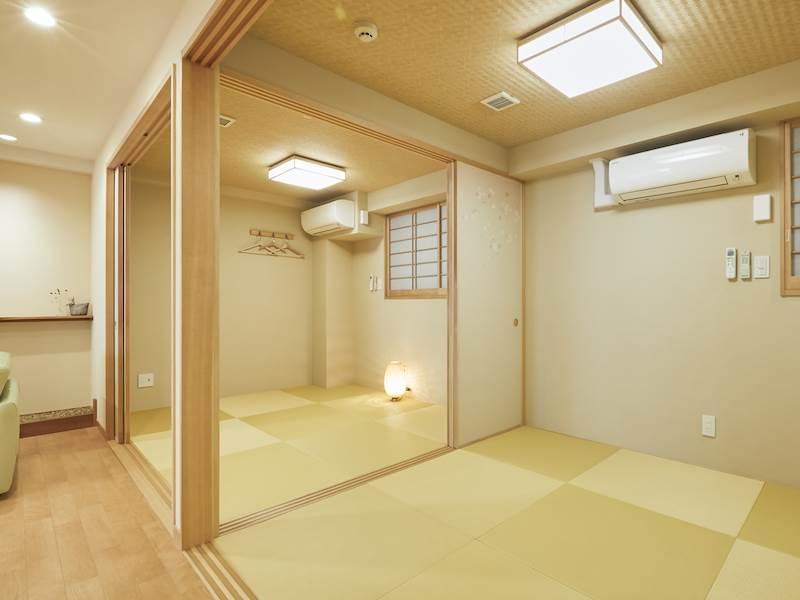 コンドミニアム欅庵東京日本橋 4名用和室
