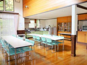 軽井沢020 大型棟 15人までが一緒に泊まれるコテージ貸別荘