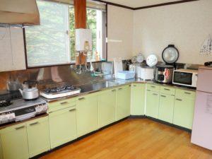 香泉開発コテージ 大型棟 キッチン