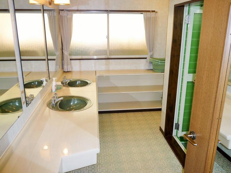 軽井沢020 大型棟 洗面