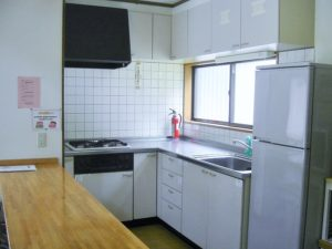 ソシアルヴィレッジ芭蕉 Bタイプ キッチン