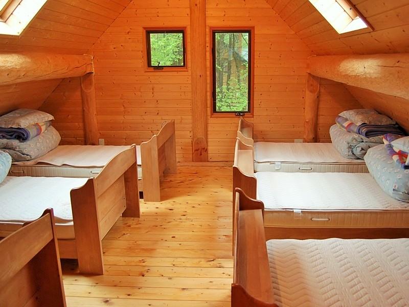 しゃくなげ平・第二 10名用 寝室
