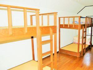 しゃくなげ平・第二 20名用 寝室