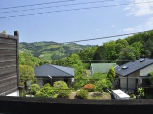修善寺フォーレスト テラス露天風呂付4名用 2階からの景色