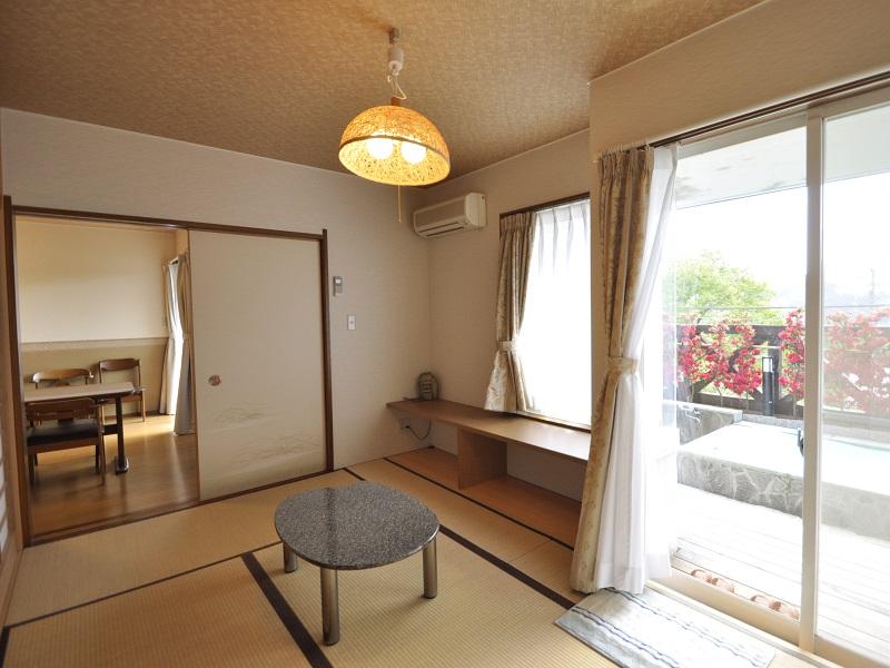修善寺フォーレスト テラス露天風呂付5名用 2階客室 和室