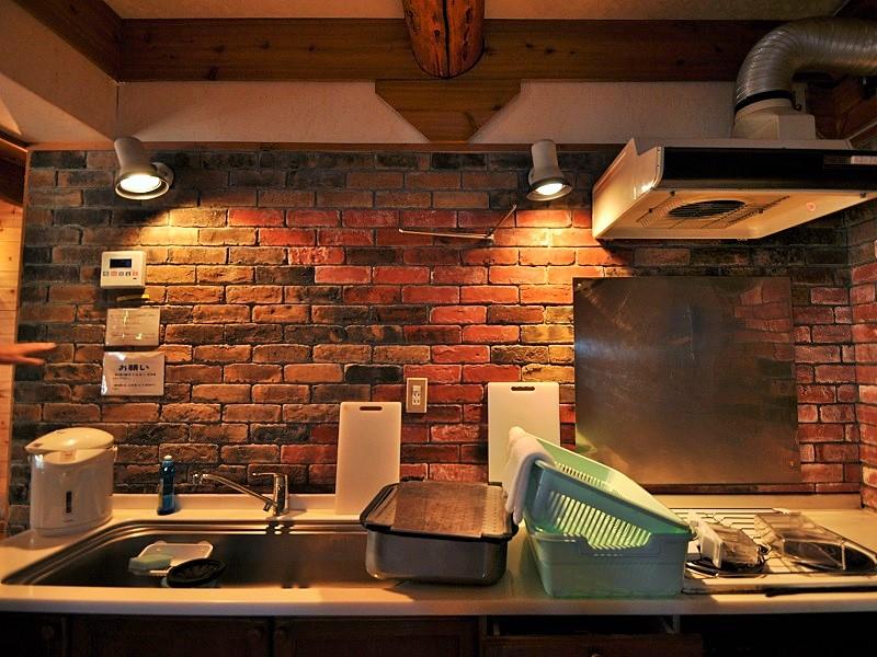 ウルベビレッジ ログ12名用 キッチン